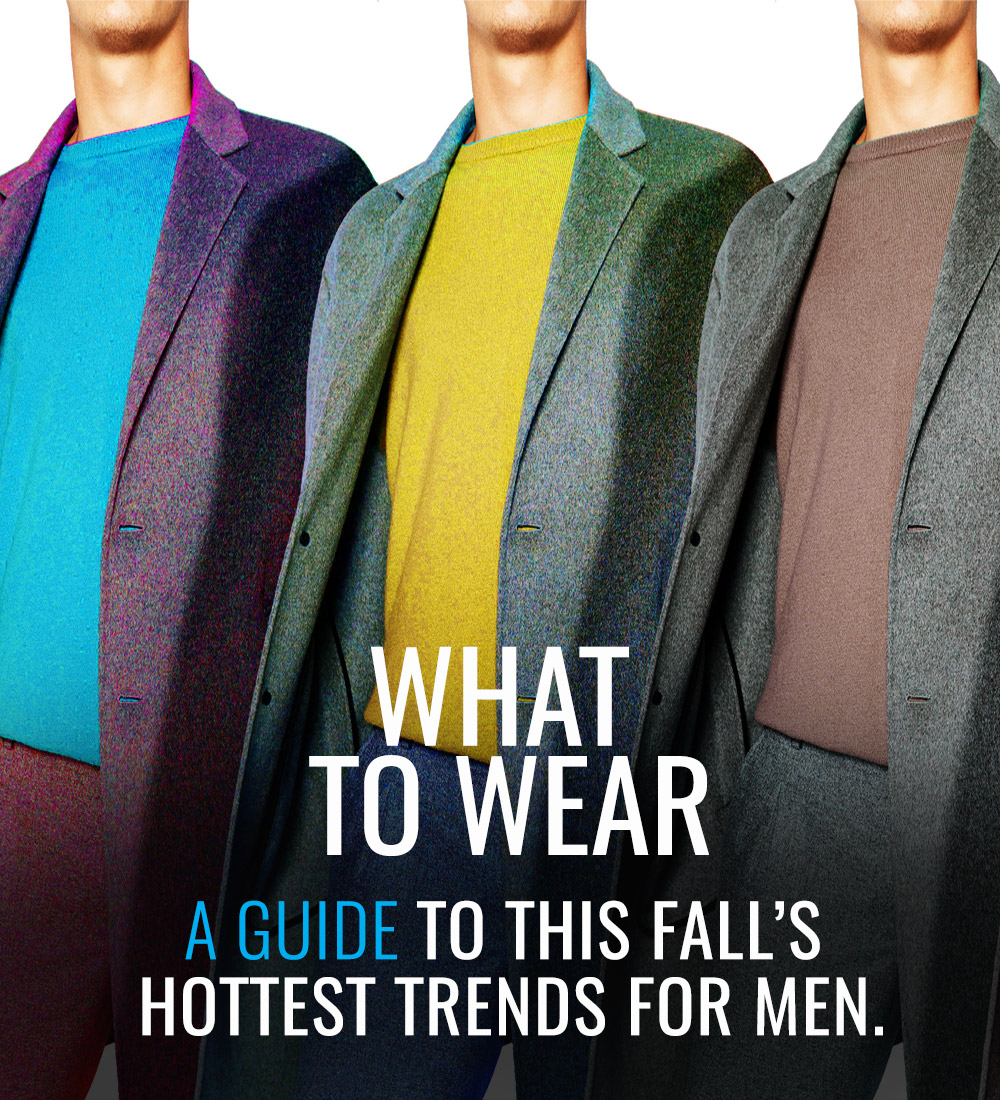 Fall 2016 Fashion Trends for Men